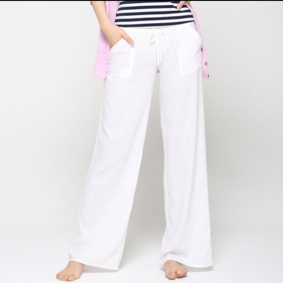 good reputation buy real reasonably priced 💕2/$20 JEAN SALE💕🔆 White Cotton Beach Pants🔆